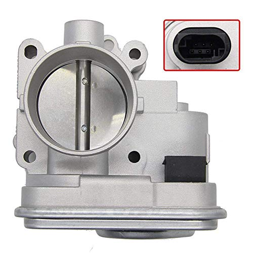 Throttle Body IAC TPS Idle Air Control Assembly Fit for 2007-2014 Chrysler 200 Dodge Avenger 2007-2012 Caliber 2009-2015 Journey 2007-2016 Jeep Compass Patriot 4891735AD 04891735AC