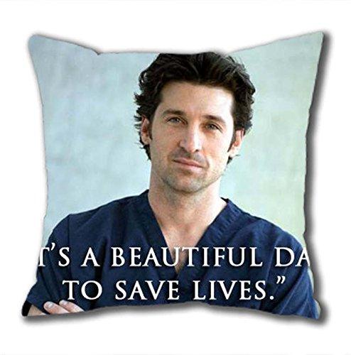 iCustomonline Greys Anatomy Standard Size Design Square Pillowcase in 40*40CM//16*16Inch