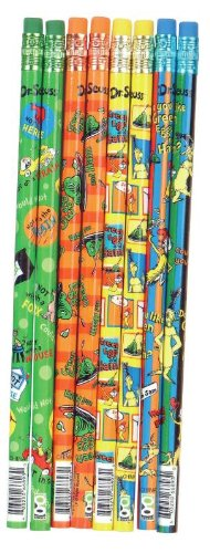 Dr Seuss Green Eggs and Ham Pencil Assortment, 144 Pieces(66893)