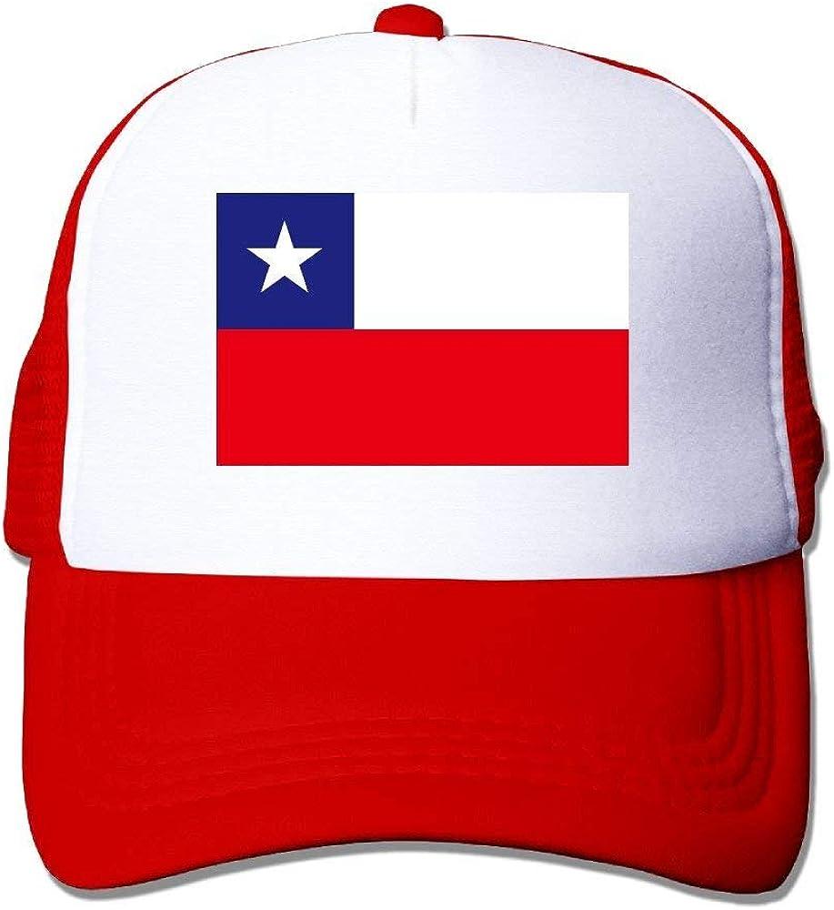 tyui7 Gorras de béisbol Bandera de Chile Gorras de Malla Sombrero ...