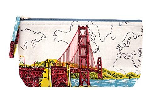 San Francisco Golden Gate Handmade Pouch ()