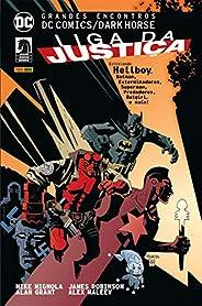 Grandes Encontros. DC Comics. Dark Horse . Liga da Justiça - Volume 1