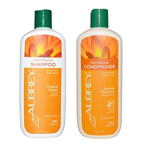 Aubrey Organics Island Naturals Shampoo and Aubrey Organics