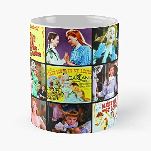 (Judy Garland Meet Me In St Louis Classic Movies Musical - Funny Gifts For Men And Women Gift Coffee Mug Tea Cup White 11 Oz The Best Gift Holidays.)