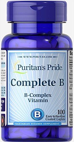- Puritan's Pride Complete B (Vitamin B Complex)-100 Caplets