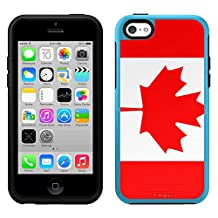 Skin Decal for OtterBox Symmetry Apple iPhone 5C Case - Canada Flag