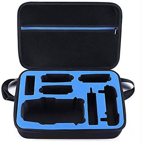 DJI Mavic Pro Drone Carrying Case by DOUBI - Ideal for Travel or Home Storage - Shoulder Strap and Custom Interior Included