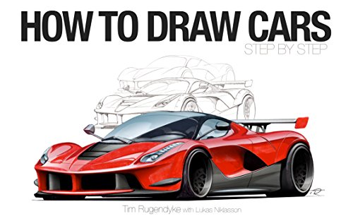 Pantone Art Markers - How To Draw Cars - Step By Step