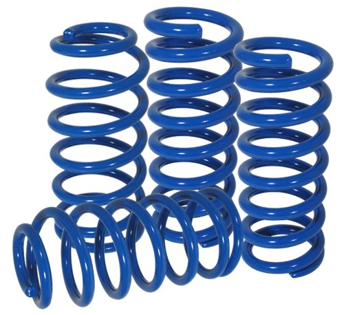 AJP Distributors Blue Suspension Lowering Lower Springs Coils For 1979-2004 Ford - Springs Distributor Ford