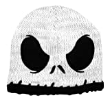 Nightmare Before Christmas Jack White Face Knit Juniors Beanie Hat