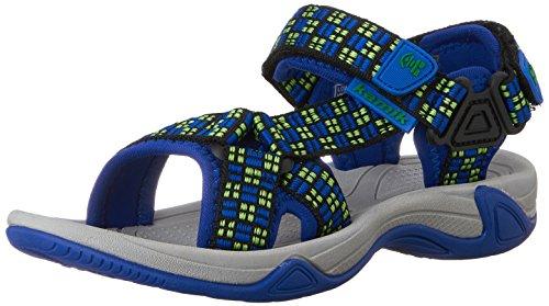Kamik - Sandalias de vestir de tela para niño Dark Blue
