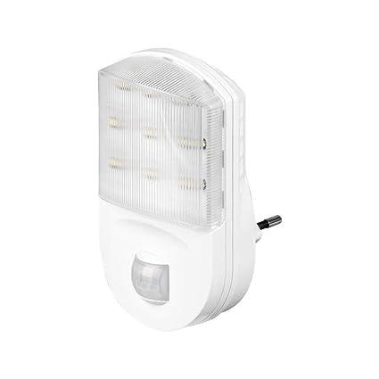Goobay 96500 Sensor de Infrarrojos Alámbrico Blanco Detector de Movimiento - Sensor de Movimiento (Sensor