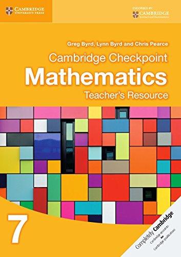 Cambridge Checkpoint Mathematics Teacher's Resource 7 (Cambridge International Examinations)