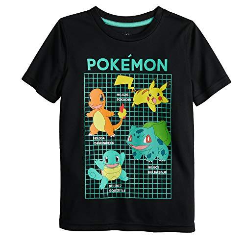 Pokemon T Shirt (Jumping Beans Boys 4-12 Pokemon Group Active Graphic Tee 7)