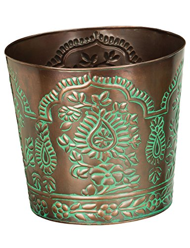 - Regal Art & Gift Paisley Paisley Tapered Planter, 10
