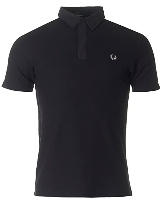 Fred Perry - Polo - para Hombre Negro Negro Large: Amazon.es: Ropa ...