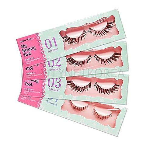 ETUDE HOUSE My Beauty Tool Eyelashes Pointlash & Underlash / Beautynetkorea (#Point Lash 3) - Lash Point