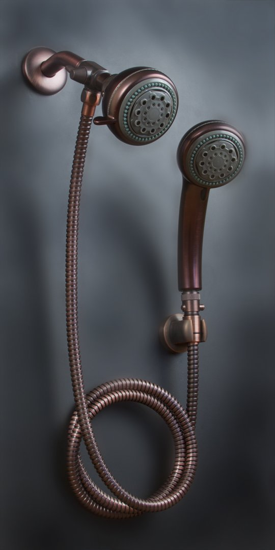 Amazon.com: Mariner Oil Rub Bronze Combination Shower Head: Home ...