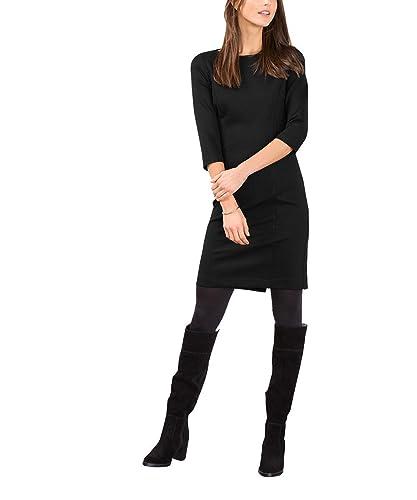 ESPRIT 116EE1E019, Vestito Donna, Nero (Black), 34 (Taglia Produttore: X-Small)