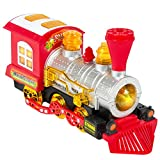Best Choice Products Kids Blowing Bubble Train Car