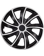 NRM Wieldop Quad Bicolor zwart/zilver set van 4