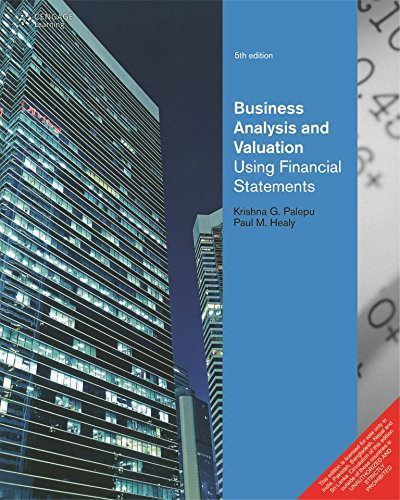 Business Analysis Valuation  Using Financial Statements  5Th Edition   Paperback