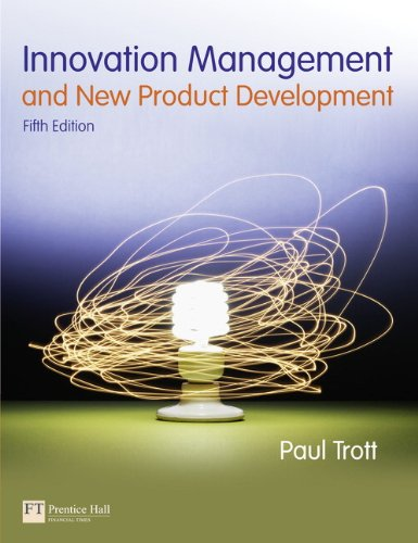 Innovation Management & New Product Development, 5th ed.