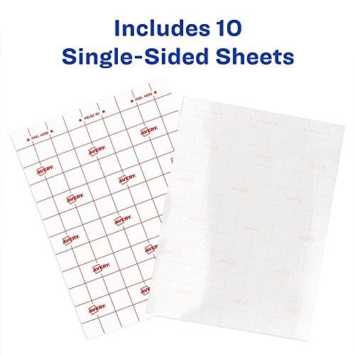 Avery Self-Adhesive Laminating Sheets