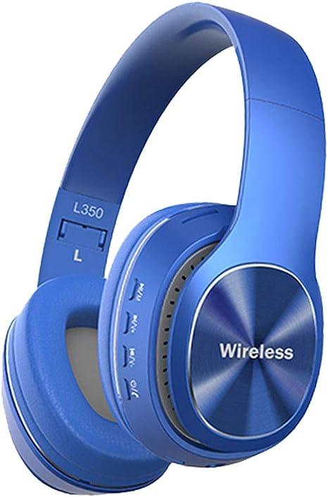 Gazechimp Auriculares Bluetooth sobre La Oreja, Auriculares ...