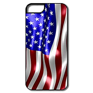 New Arrival Customized Visual USA Flag Stars For Iphone 5/5S Protector