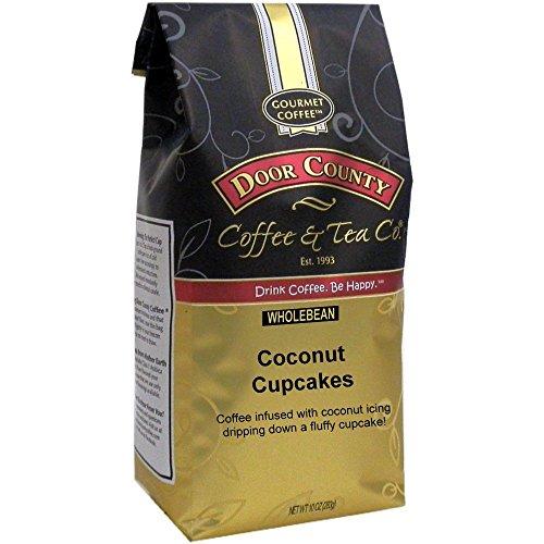 Door County Coffee, Coconut Cupcakes, Wholebean, 10oz Bag ()