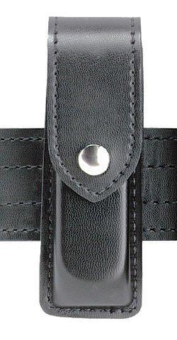 (Safariland 76 Single Handgun Magazine Pouch - Black, Nylon-Look, Ambidextrous)