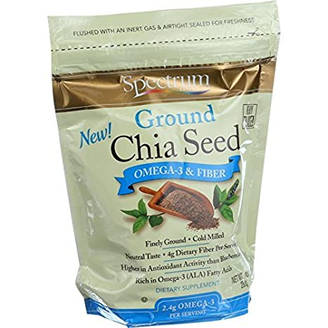 Amazon.com: Spectrum Naturals Semilla Chia Grnd Org: Health ...