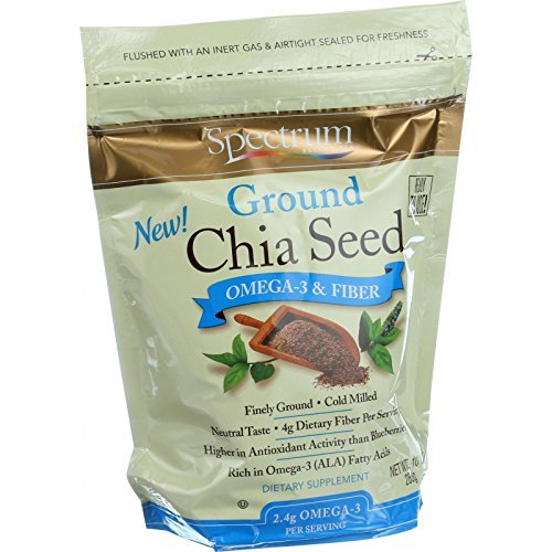 Spectrum Naturals Seed Chia Grnd Org