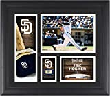 "Eric Hosmer San Diego Padres Framed 15"" x 17"" Player Collage with a Piece of Game-Used Ball - MLB Player Plaques and Collages"