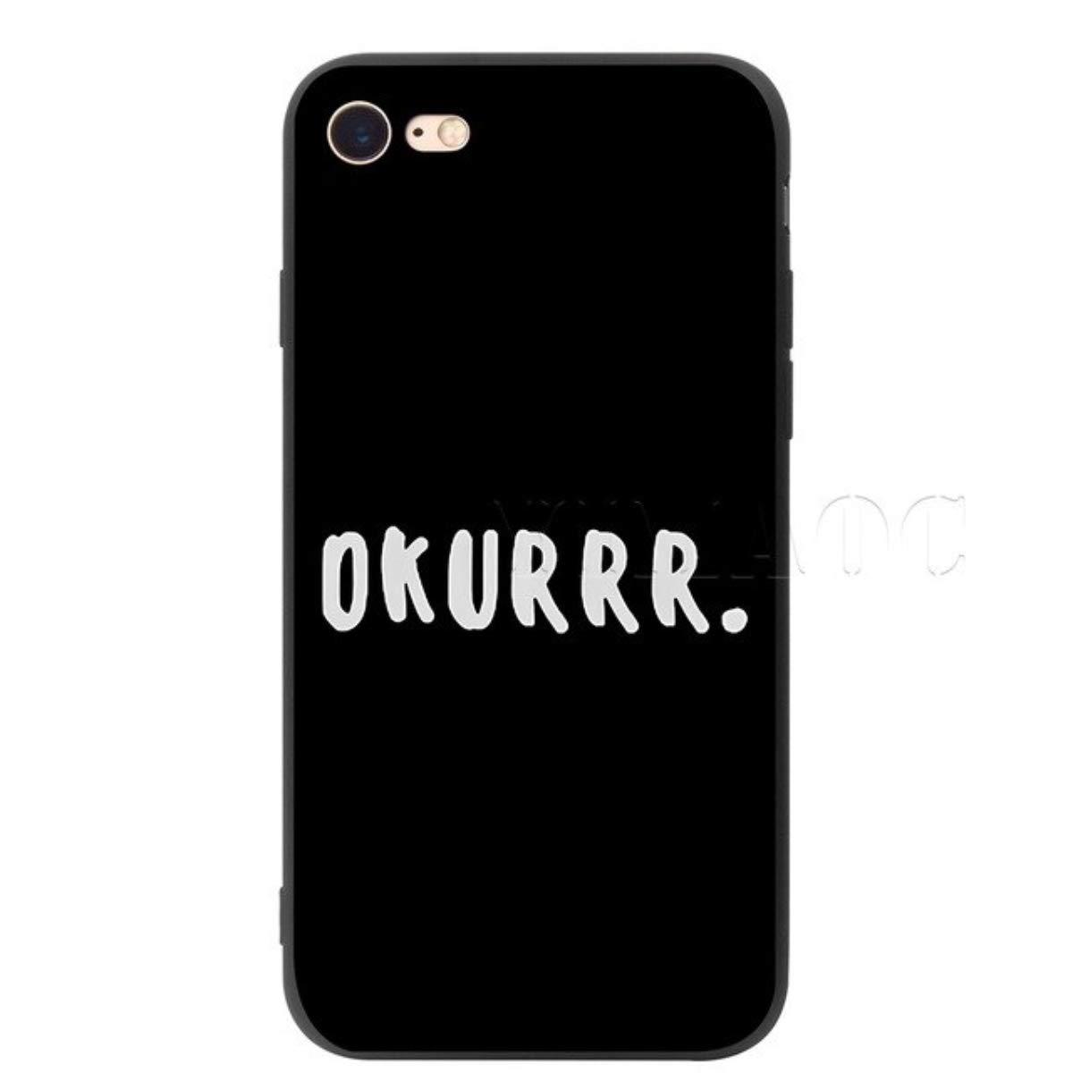 Cardi B, OKURRRR Silicone Phone case for Men and Women (iPhone 5/5s/5SE)