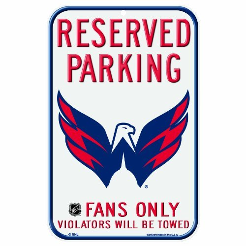 Washington Capitals Locker Room - NHL Washington Capitals 11-by-17 Inch Locker Room Sign by WinCraft