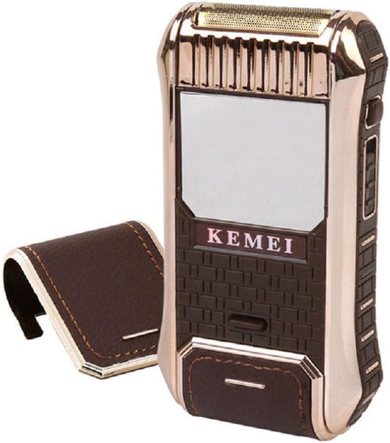 Mini afeitadora eléctrica recargable portátil para los hombres ...