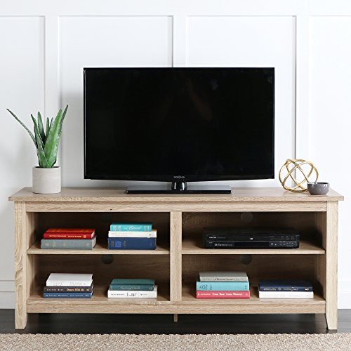 New 58'' Modern Tv Console Stand - Natural Finish by Home Accent Furnishings (Image #1)