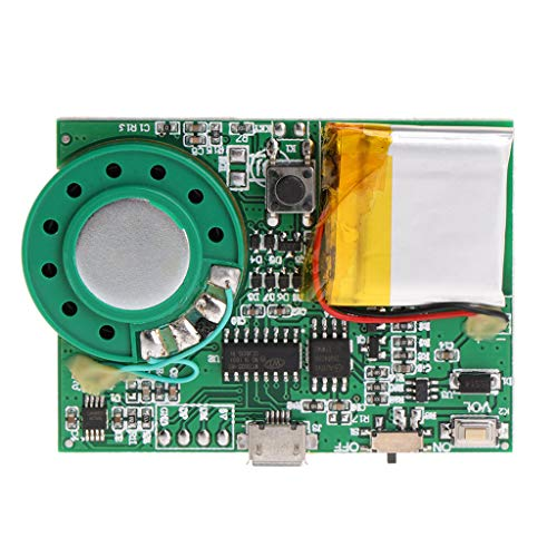 - PoityA Music Playing Board Greeting Card Voice Module Button/Light Induction Control