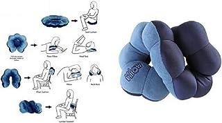 TrAdE shop Traesio- Total Pillow Cuscino per Collo Anti CERVICALE da Viaggio POGGIA Testa ERGONOMICO TrAdE shop Traesio®