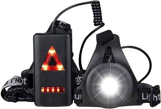 Danolt Lámpara de Cofre LED con luz Trasera 3 Modos de luz ...