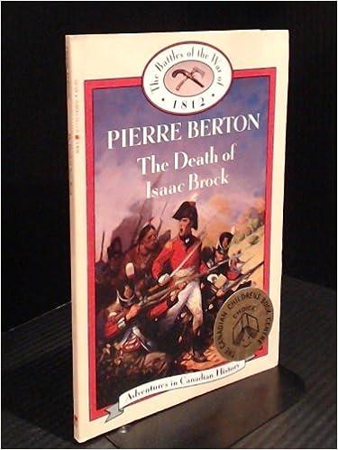 Book Death of Isaac Brock (Book 2) (The Battles of the War of 1812)