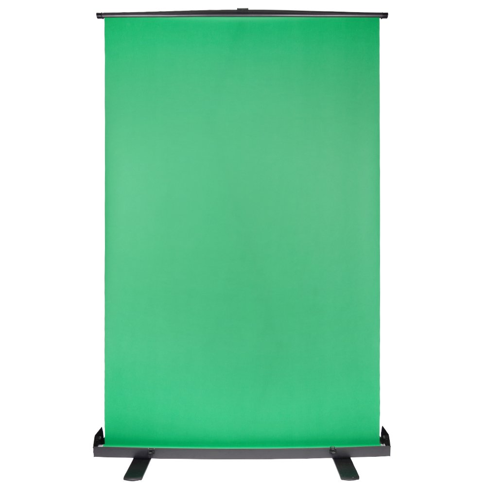 Kate Green Screen Background Collapsible Chromakey with Auto-Locking Frame Adjustable Green Fabric Backdrop for Photo Video and Television by Kate