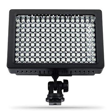 Dv Ld Caméscope Torche Lightdow 160 Pour Vidéo Lampe À Led Pro 3jR5LA4