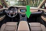 lebogner 2 Pack Car Seat Gap Filler Premium PU Full Leather Seat Console Organizer, Car Pocket Organizer, Car Interior Accessories, Car Seat Side Drop Caddy Catcher