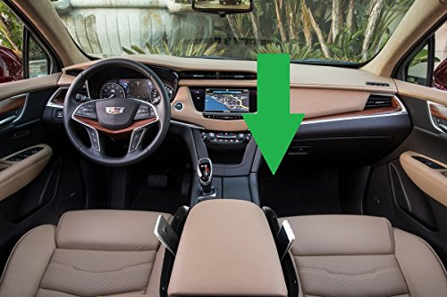 lebogner Black Gap Filler Premium PU Full Leather Console Pocket Organizer, Interior Accessories, Car Seat Side Drop Caddy Catcher, 2 Pack