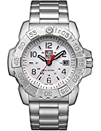 Mens SEA Swiss Quartz Stainless Steel Casual Watch, Color Silver-Toned (