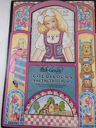 "Peck Grande Vintage Goldilocks and The Three Bears 12"" Paper Doll with 12 Costumes 1988 from Peck Grande"