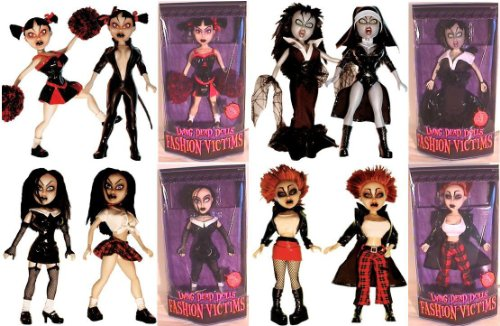 Living Dead Dolls Fashion - Living Dead DOLLS FASHION VICTIMS SET OF 4